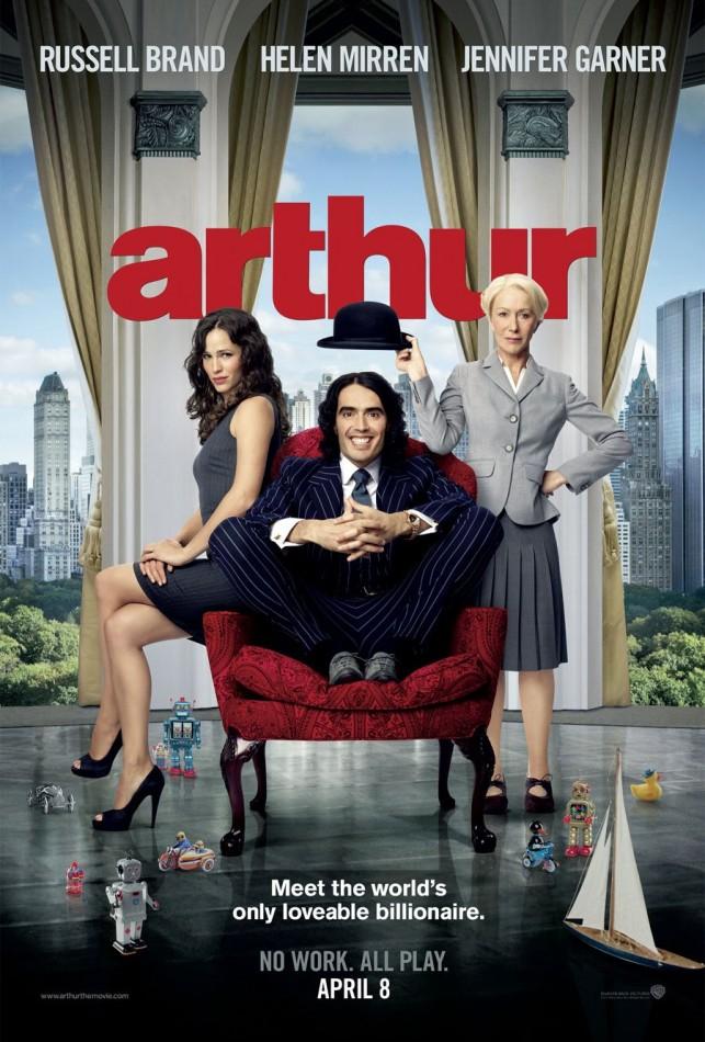 Arthur 2011 filmas