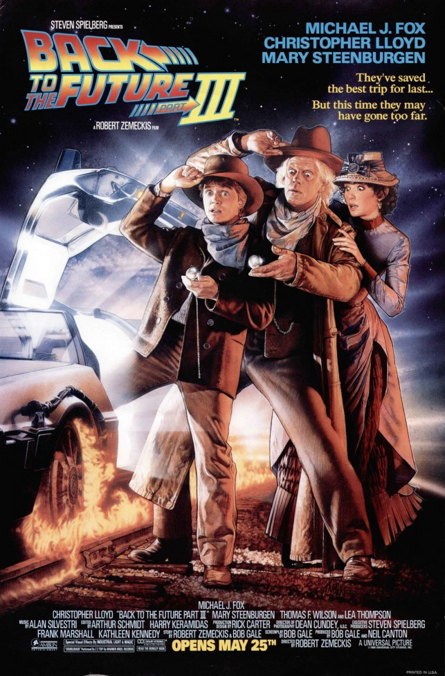 Back to the Future Part 3 1990 filmas