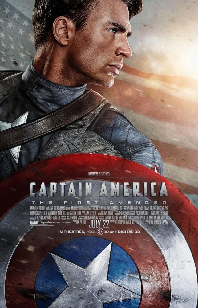 Captain America The First Avenger 3D 2011 filmas