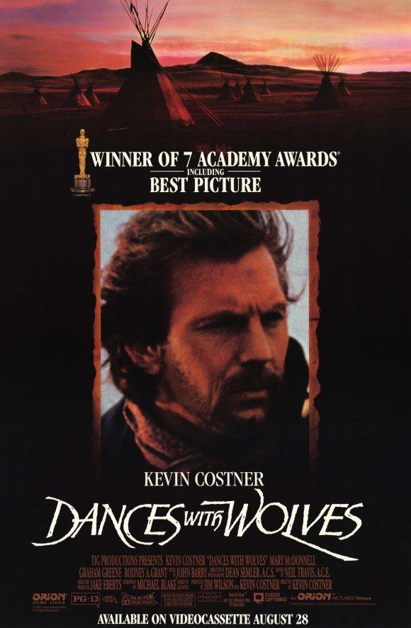 Dances with Wolves 1990 filmas