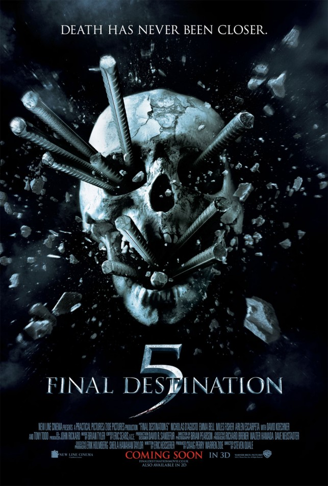 Final Destination 5 3D 2011 filmas