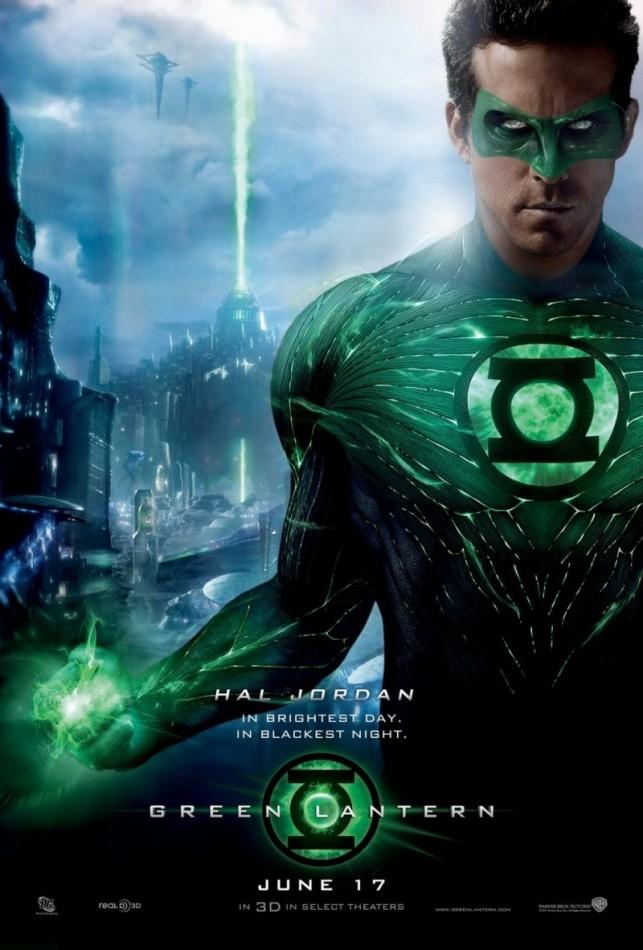 Green Lantern 3D 2011 filmas