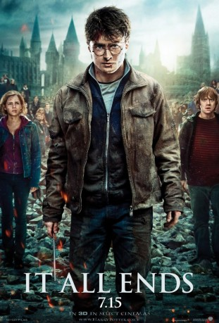 Harry Potter and the Deathly Hallows Part 2 3D 2011 filmas