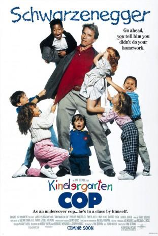 Kindergarten Cop 1990 filmas