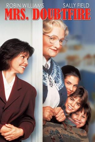 Mrs Doubtfire 1993 filmas