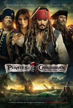 Pirates of the Caribbean On Stranger Tides 3D 2011 filmas