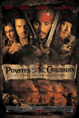 Pirates of the Caribbean The Curse of the Black Pearl 2003 filmas