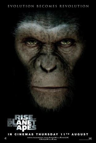 Rise of the planet of the apes 3D 2011 filmas