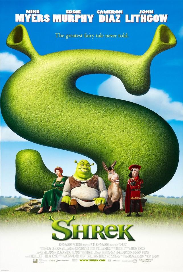 Shrek 2001 filmas