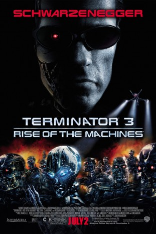 Terminator 3 Rise of the Machines 2003 filmas