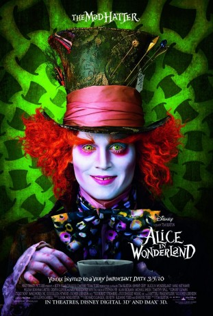 Alice in Wonderland 2010 filmas