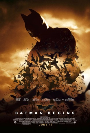 Batman Begins 2005 filmas