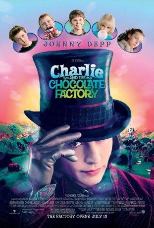 Charlie and the Chocolate Factory 2005 filmas