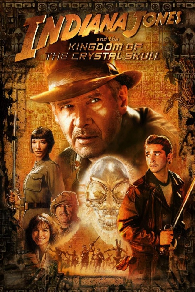 Indiana Jones and the Kingdom of the Crystal Skull 2008 filmas