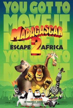 Madagascar Escape 2 Africa 2008 filmas