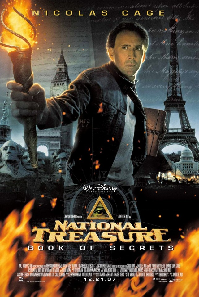 National Treasure Book of Secrets 2007 filmas