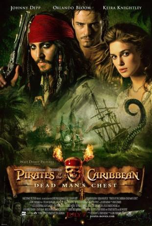 Pirates of the Caribbean Dead Mans Chest 2006 filmas