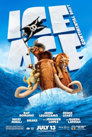 Ice Age Continental Drift 2012 filmas