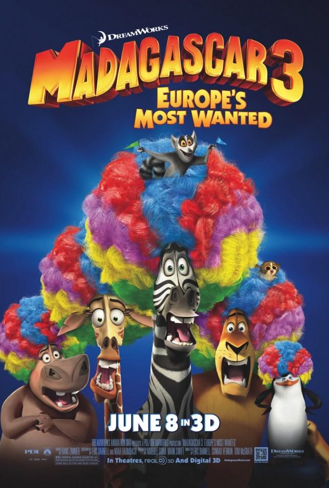 Madagascar 3 2012 filmas