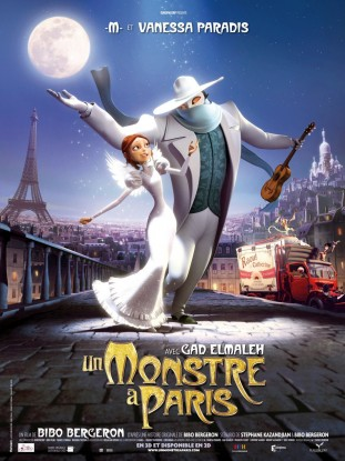 Monster in Paris 2011 filmas