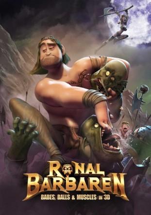 Ronal barbaren 2011 filmas poster