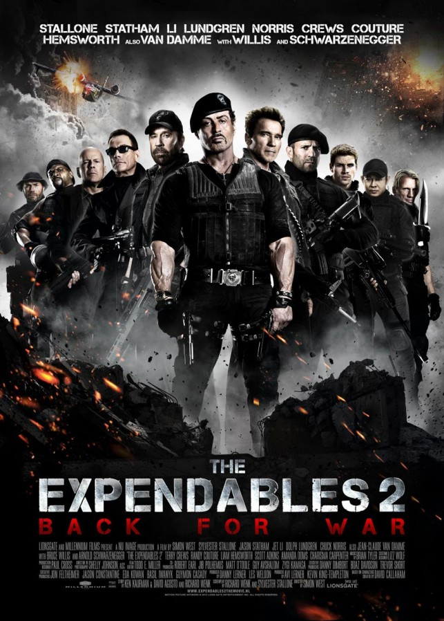 The Expendables 2 2012 filmas