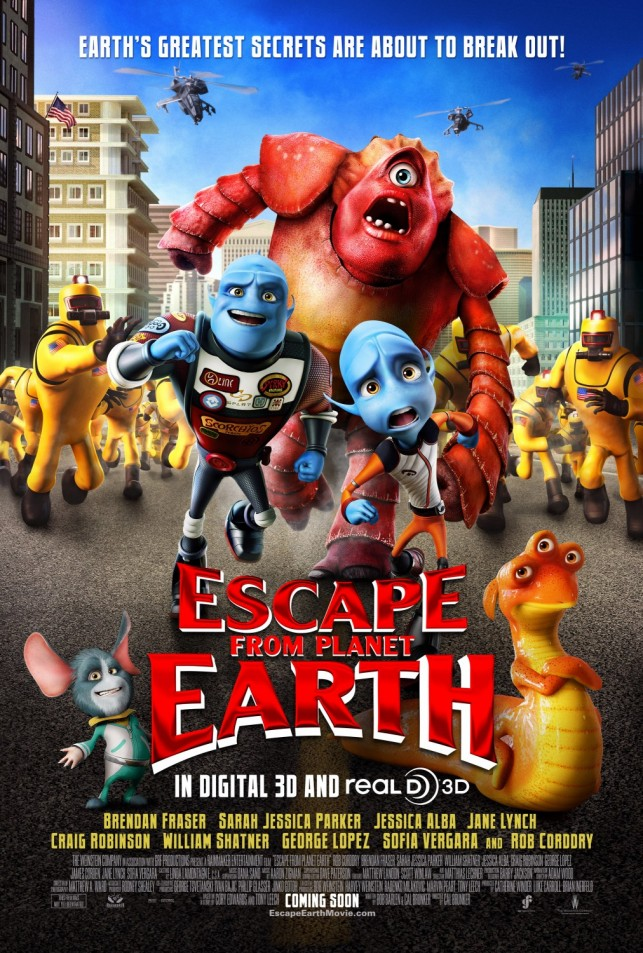 Escape from Planet Earth 2013 filmas