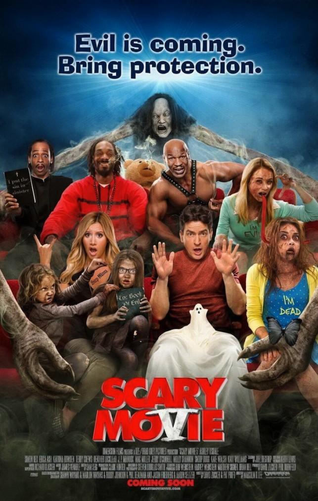 Scary Movie 5 2013 filmas