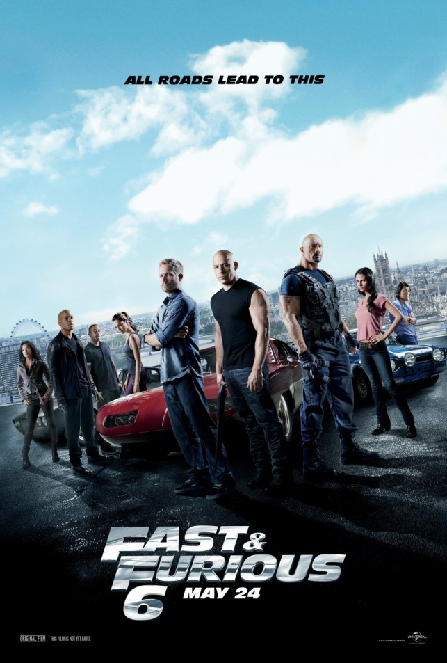 The Fast and the Furious 6 2013 filmas
