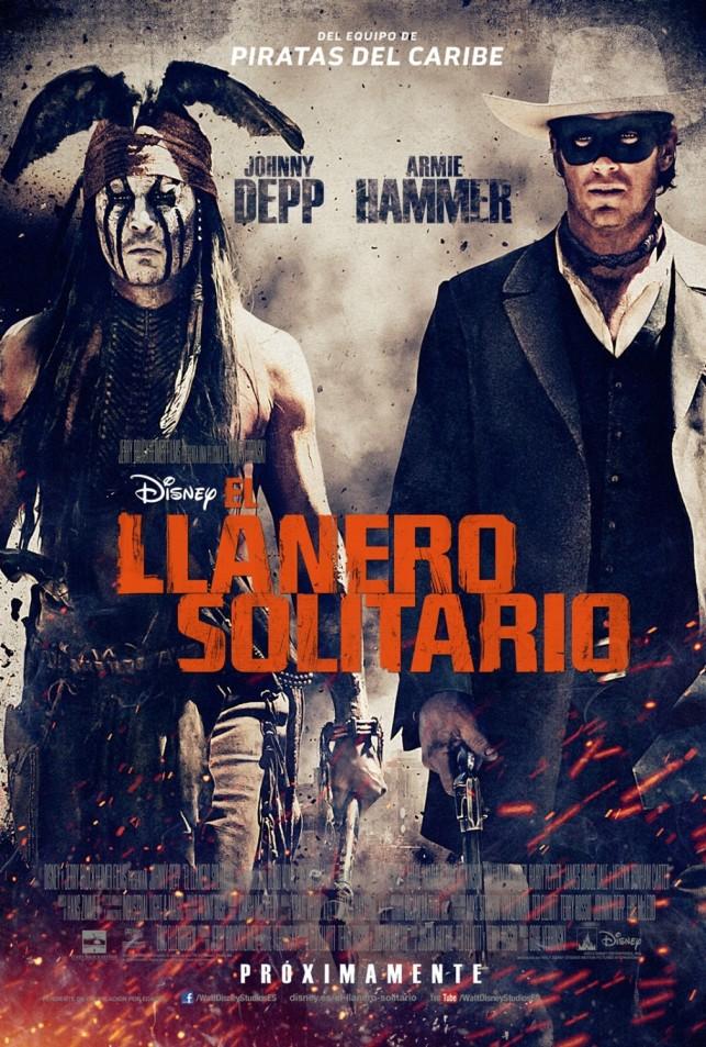 The Lone Ranger 2013 kino filmas