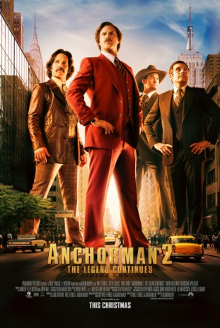 Anchorman 2 The Legend Continues 2013 filmas