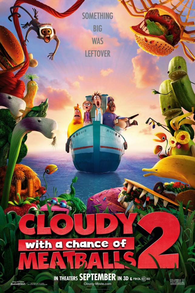 Cloudy with a Chance of Meatballs 2 2013 filmas
