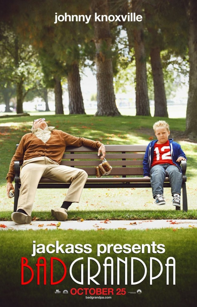 Jackass Presents Bad Grandpa 2013 filmas