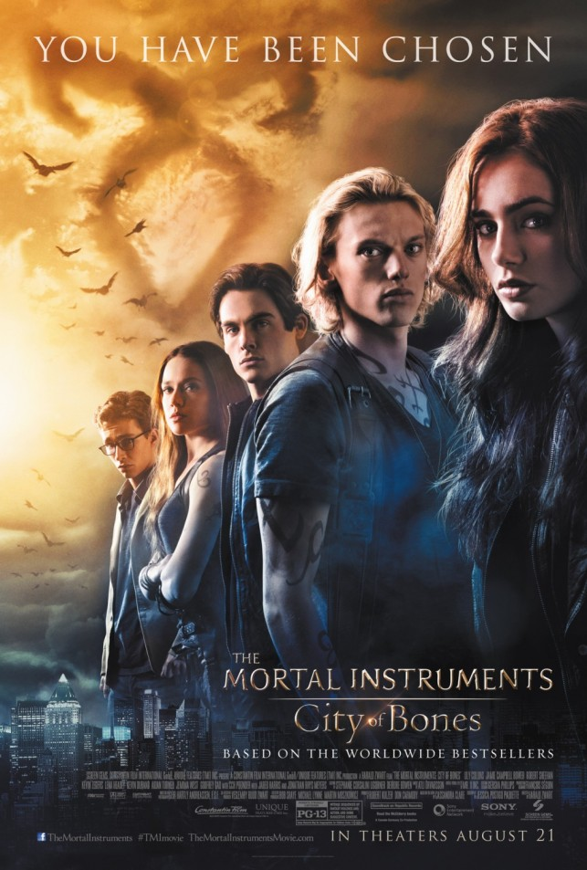 The Mortal Instruments City of Bones 2013 filmas
