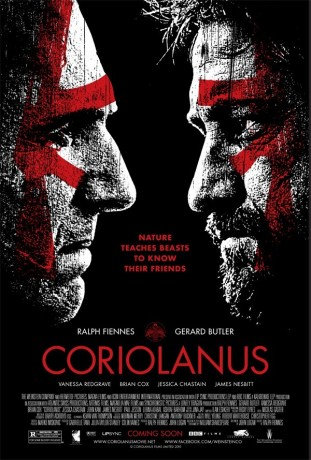 Coriolanus 2012 filmas