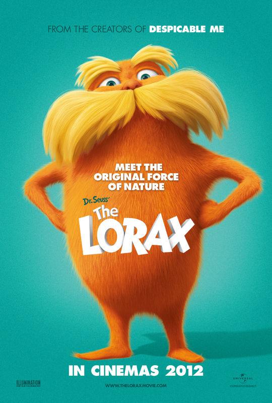 Dr Seuss The Lorax 2012 filmas