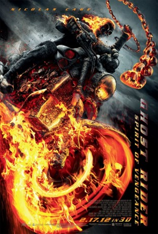 Ghost Rider Spirit of Vengeance 2012 filmas