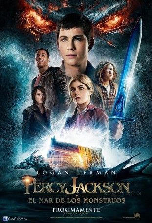Percy Jackson Sea of Monsters 2013 filmas