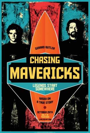 Chasing Mavericks 2012 poster