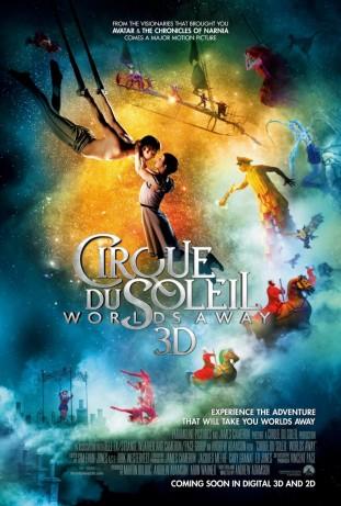 Cirque du Soleil Worlds Away 2012 poster