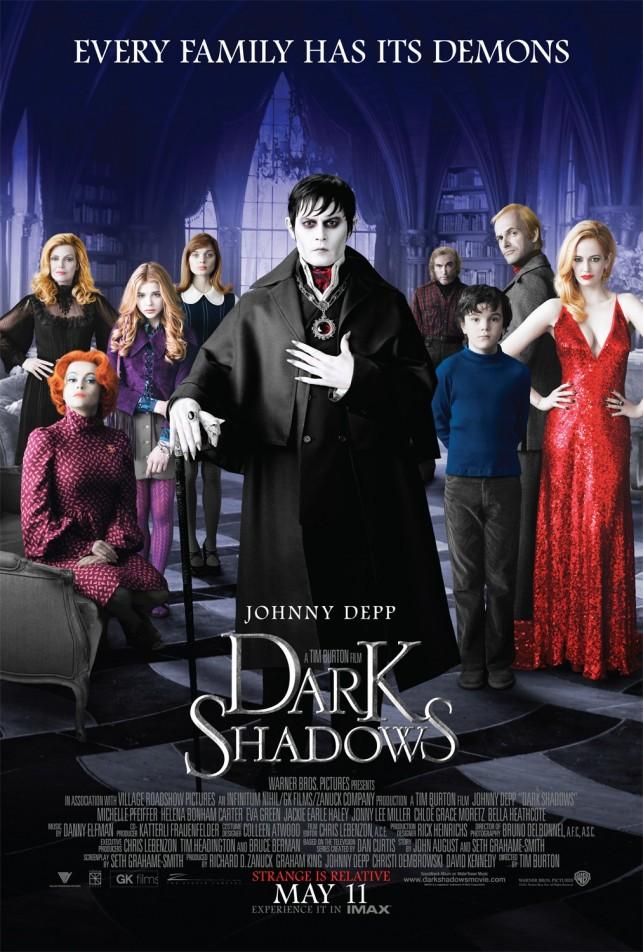 Dark Shadows 2012 filmas
