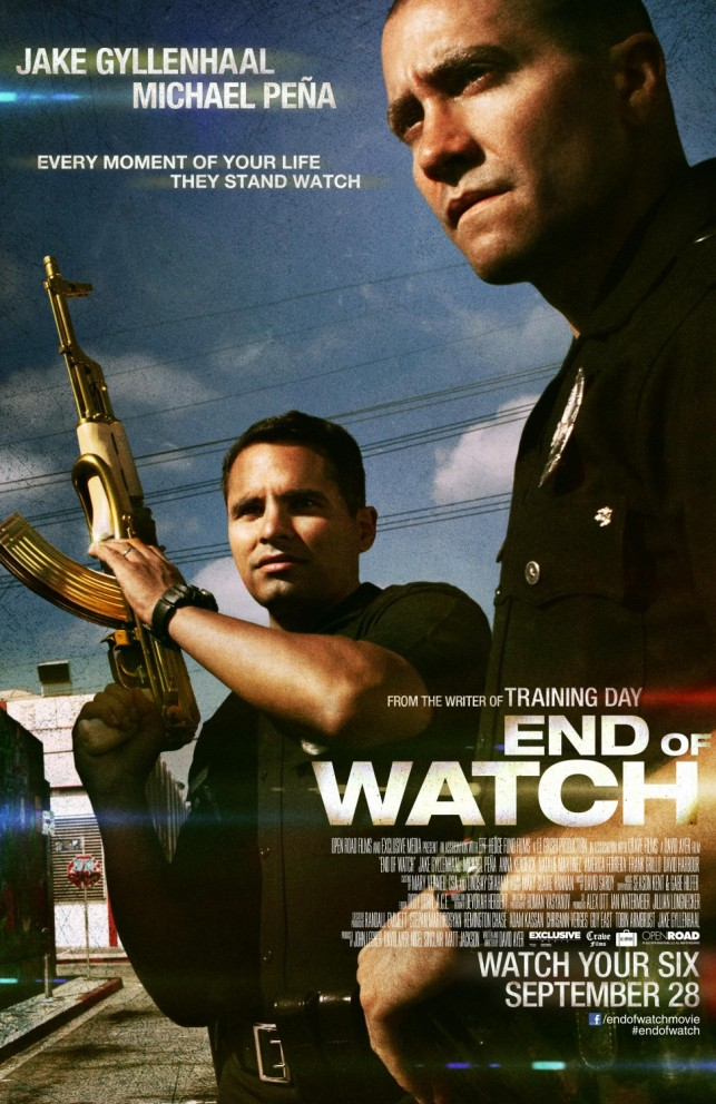 End of Watch 2012 poster