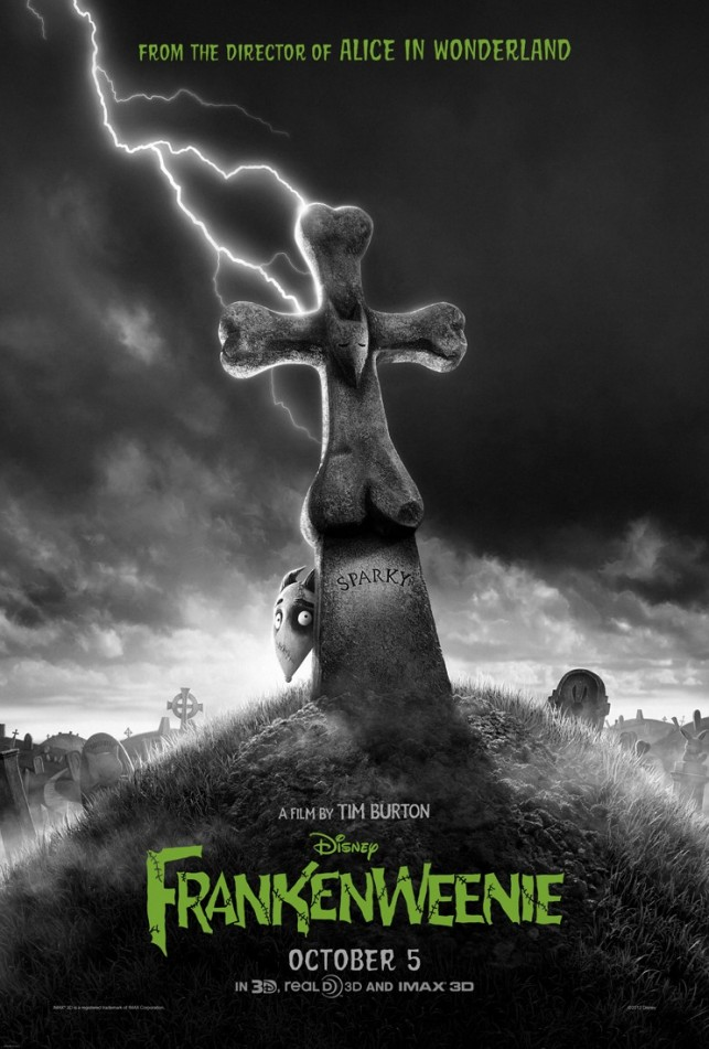 Frankenweenie 2012 poster