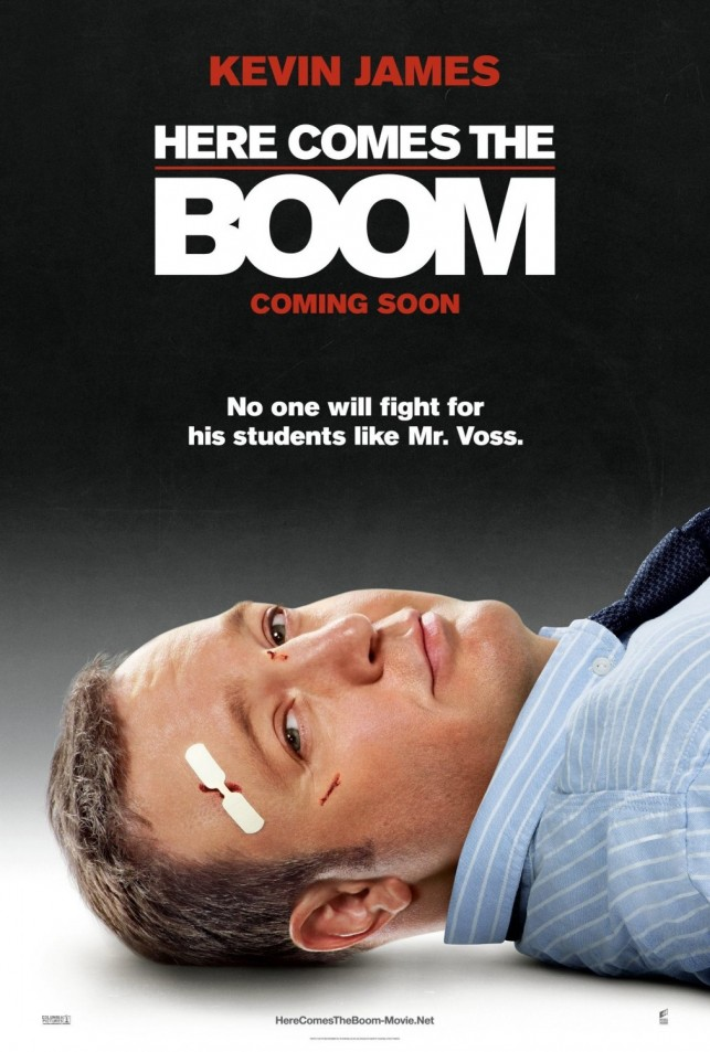 Here Comes the Boom 2012 poster