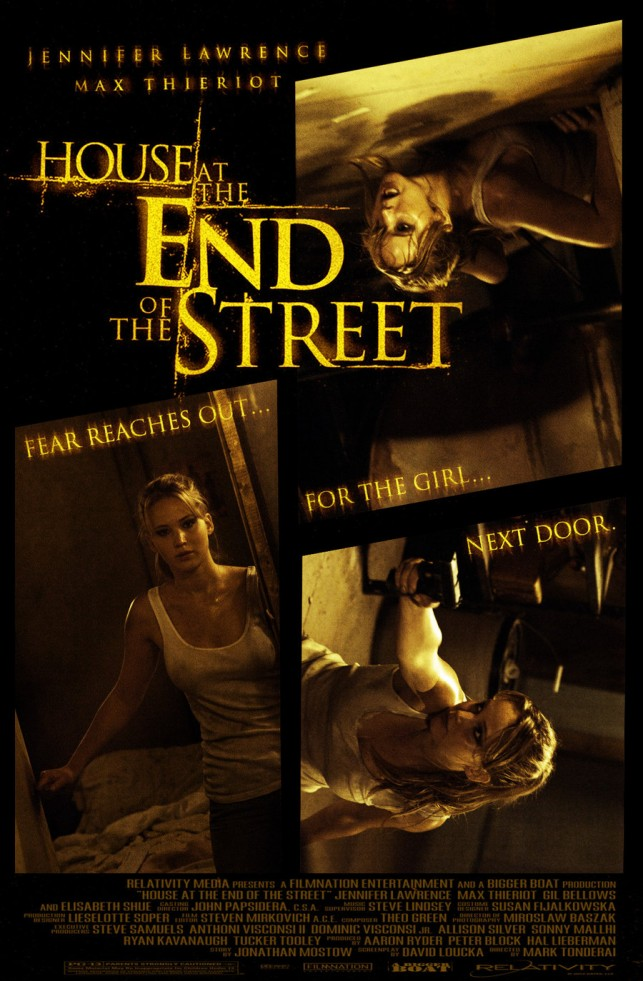 House at the End of the Street 2012 poster