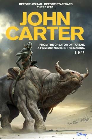 John Carter 2012 filmas