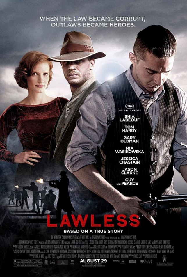 Lawless 2012 poster