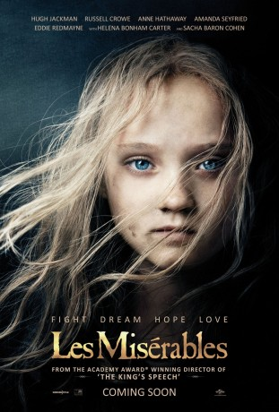 Les Miserables 2012 poster