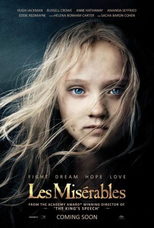 Les Miserables 2012 poster