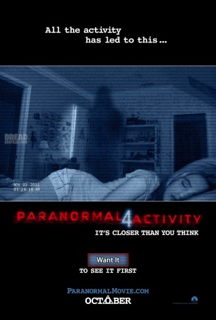 Paranormal Activity 4 2012 poster